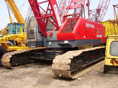 Second Hand Fushun Quy50a Crane