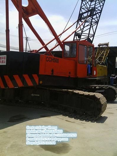 Second Hand Ihi Cch500 Crane