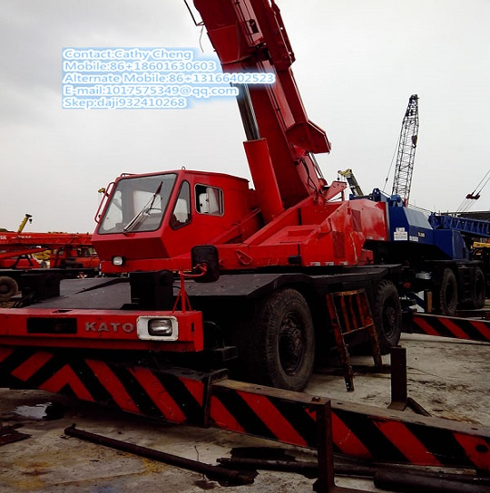Second Hand Kato Kr250 Crane