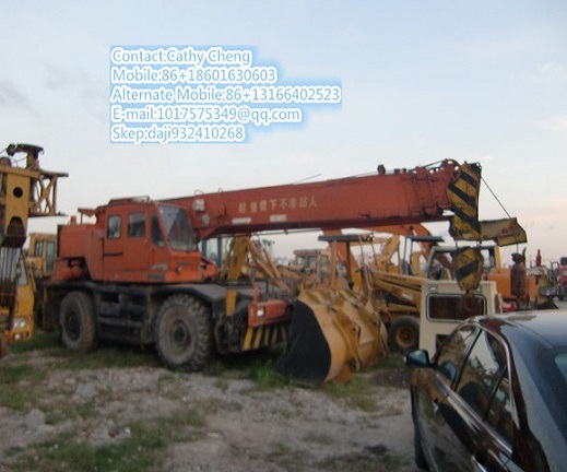 Second Hand Kato Kr25h Kr15h Crane