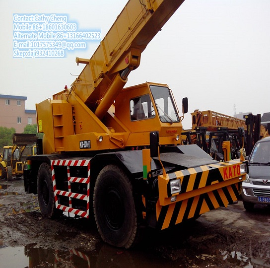 Second Hand Kato Kr500 2 Crane