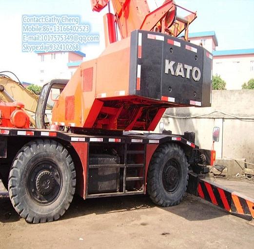 Second Hand Kato Nk200ke Crane