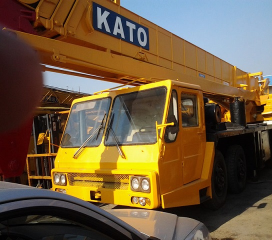 Second Hand Kato Nk400e Crane