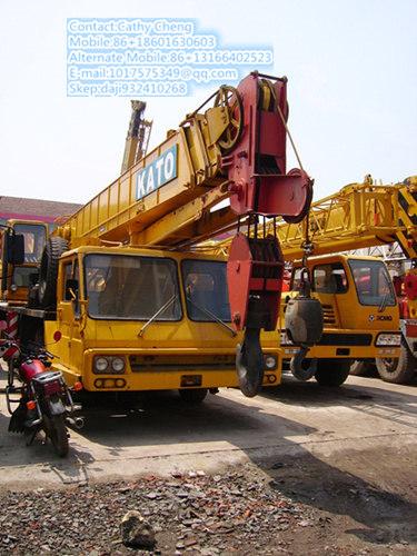 Second Hand Kato Nk400ev Crane