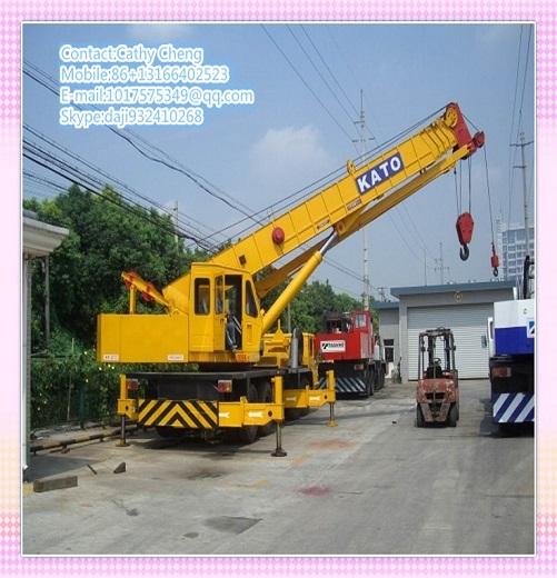Second Hand Kato Nk500e Crane