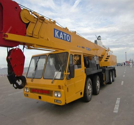 Second Hand Kato Nk550e Crane