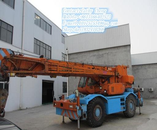 Second Hand Kobelco Rk250 Crane