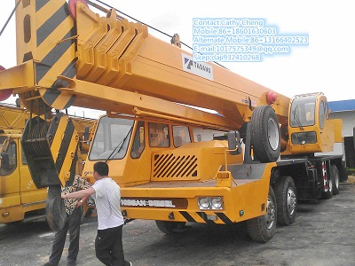 Second Hand Tadano Gt550 Crane