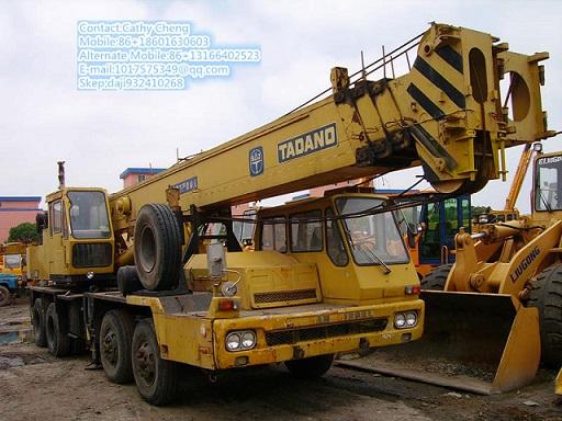 Second Hand Tadano Tg350m Crane