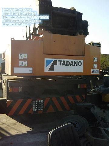 Second Hand Tadano Tg500e Crane