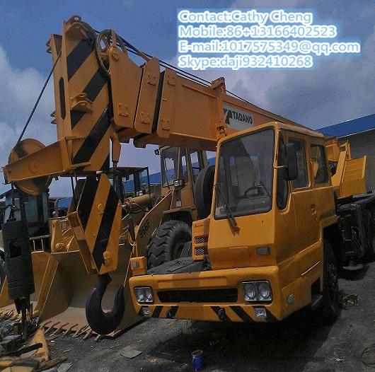 Second Hand Tadano Tl250e 3 Crane