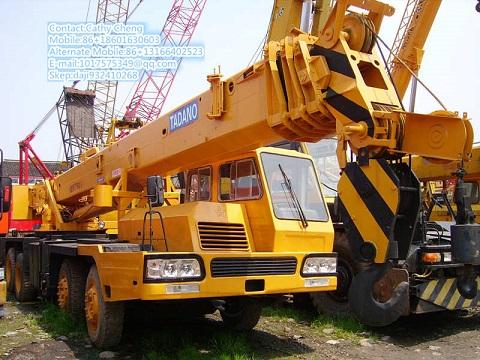 Second Hand Tadano Tl350e Crane