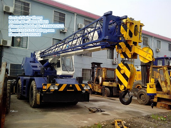 Second Hand Tadano Tr250m 3 Crane