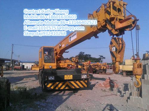 Second Hand Tadano Tr250m Crane