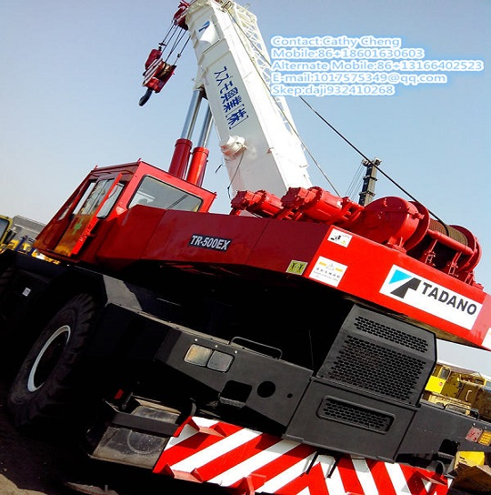 Second Hand Tadano Tr500ex Crane