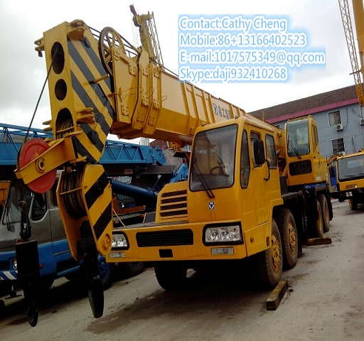Second Hand Xcmg Qy50 Crane