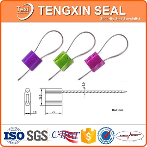 Security Cable Seals With Aluminum Materials