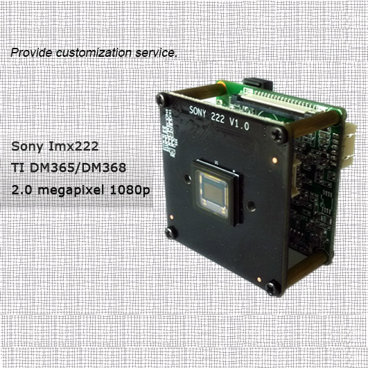 Security Camera Module With Ti Solution 5 0megapixel Dm365 Dm368 Mt9p006