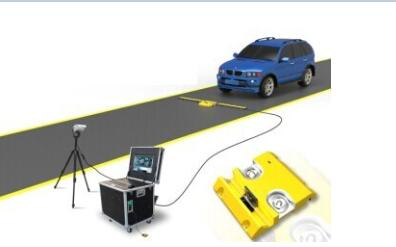 Security Check Under Car Scanning Surveillance System For Airport