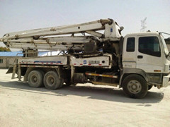 Sell 2004 Zoomlion Second Hand Concrete Pump Truck Isuzu Chassis