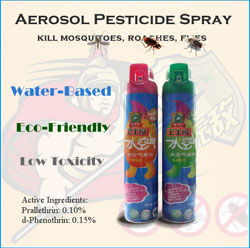 Sell Aerosol Pesticide Insecticide Spray