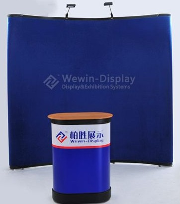 Sell Banner Stand Pop Up Display Portable Lever Premium Carton