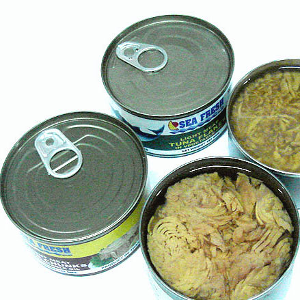 Sell Canned Tuna Chunks In Vegetable Oil 185 G