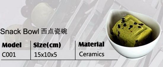 Sell Ceramics Snack Bowl C001