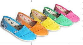 Sell Colorful Canvas Shoes