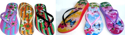 Sell Colorful Lady Flip Flops
