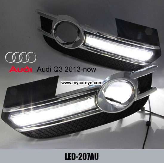 Sell Daytime Running Lights Drl With Black Fog Light Cover For Audi Q3