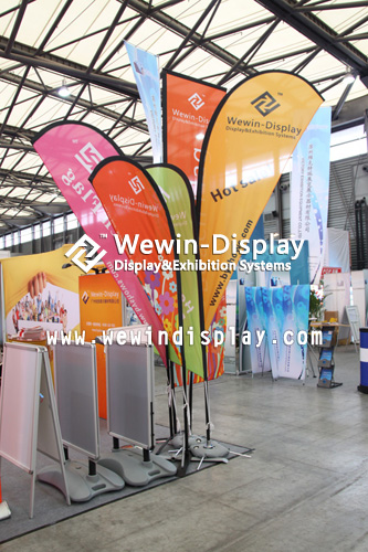 Sell Exhibition Flag With Pole