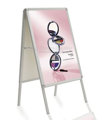 Sell Fashionable Poster Display Stand Picture Installing Sided