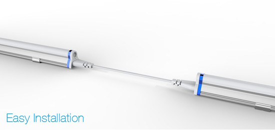 Sell Fixture Integrated T5 Led Tube 2ft 3ft 4ft 5ft With Ul Tuv Rohs Approved