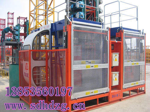 Sell Hongda Construction Elevator