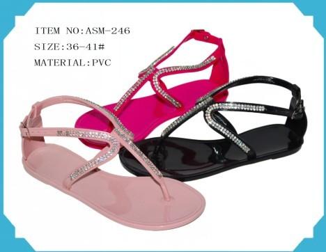 Sell Lady S Pvc Fashion Sandals Asm 247