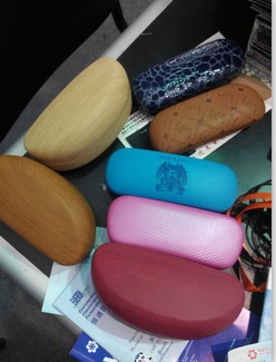 Sell Metal Iron Eyeglasses Case For Optical Spectacle Glasses Box
