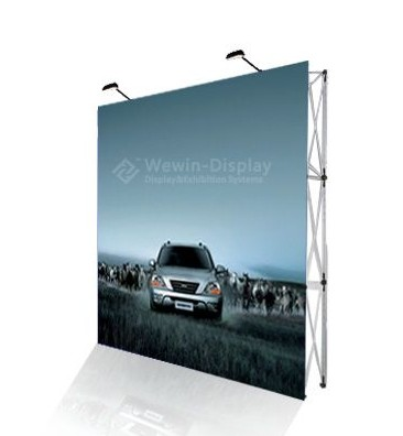 Sell Outdoor Alumium Pop Up Display Straight Wheeled Case