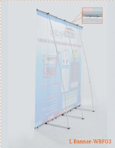Sell Portable Folding L Banner Manufacturers Booth Exporters