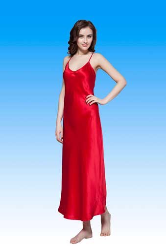 Sell Pure Silk Night Gowns From Hangzhou Silkworkshop