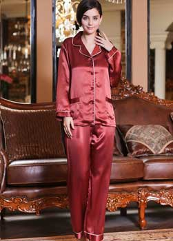 Sell Pure Silk Pajamas From Hangzhou Silkworkshop