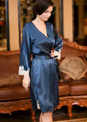 Sell Pure Silk Robes From Hangzhou Silkworkshop