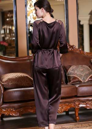 Sell Pure Silk Sleepwear From Hangzhou Silkworkshop
