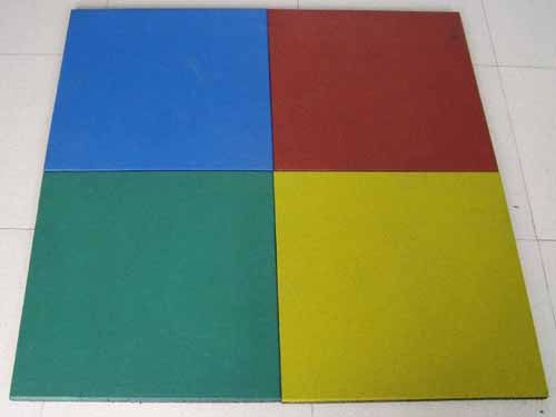 Sell Rubber Tile In Different Colors And Shapes
