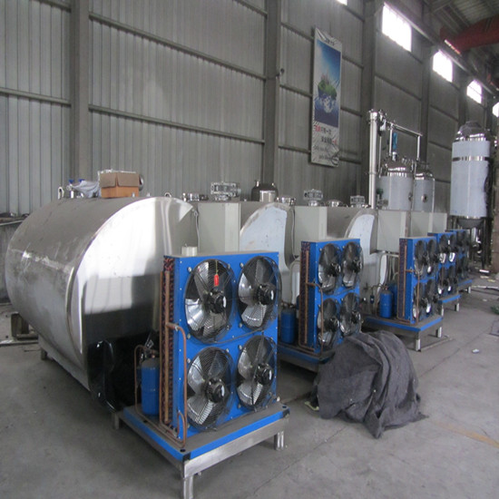 Sell S304 Milk Cooling Tank Ce Factury Price