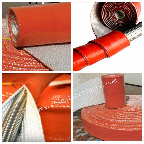 Sell Silicone Fiberglass Sleeve With Velcro