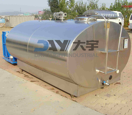 Sell Stainless Steel Milk Cooling Tank Ce Factury Price