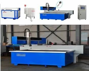 Sell Three Axis Waterjet Cutting Machine