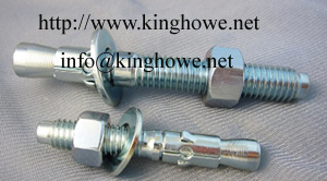 Sell Wedge Anchor Full Metric Thread M6 X 40mm M8 50mm M10 60mm M12 75mm M16 X100mm M20 X120mm