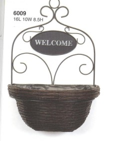 Sell Willow Basketry Wicker Flower Basket